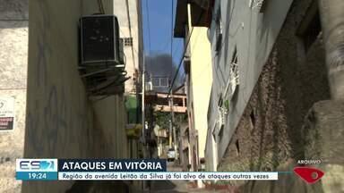 Mesmo com garantia da polícia, comerciantes não volta, a abrir depois de toque de recolher - Ataques aconteceram na manhã desta sexta em Vitória.