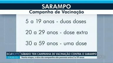 Sábado é o dia D de vacinação contra o sarampo - Confira quem tem que tomar a vacina