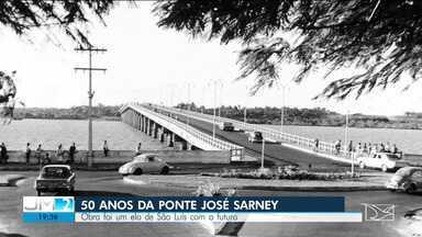 Ponte José Sarney ou Ponte do São Francisco completa 50 anos - Ponte significou muito mais que uma obra urbana, mas um elo entre São Luís e o tempo.