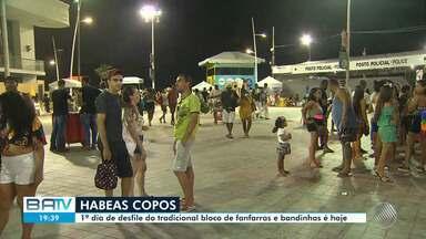 Carnaval de Salvador: bloco Habeas Copos acontece nesta sexta-feira - Veja a preparação para a festa.