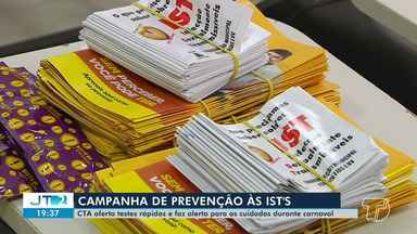 Em Santarém, CTA oferta testes rápidos e alerta população para cuidados durante o carnaval - Ações serão realizadas para prevenir IST's.