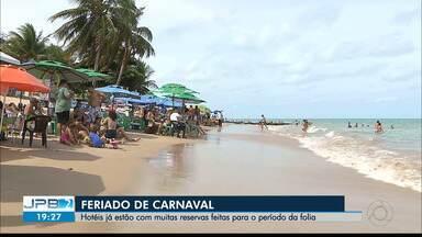 JPB2JP: Empresas de ônibus ainda registram poucas vendas de passagens para o Carnaval - Já os hotéis estão com muitas reservas feitas para o período da folia.