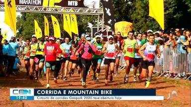 Circuito de corrida e mountain bike começou hoje no Cariri - Saiba mais em g1.com.br/ce