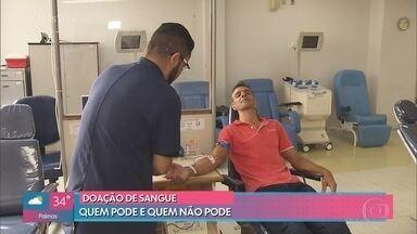 Hemocentro de São Paulo registra queda no estoque de sangue - Chegada do Carnaval preocupa os hemocentros de todo o país, que pedem que os doadores compareçam ao locais