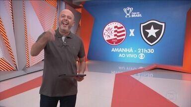 Globo Esporte, terça-feira, 18/02/2020 na Íntegra - O Globo Esporte atualiza o noticiário esportivo do dia.