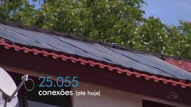 Só em 2020, número de consumidores de energia solar no RS cresce 12% devido à alta na luz - Investimento para instalação é alto. Além de economia, energia solar é mais sustentável que a elétrica.