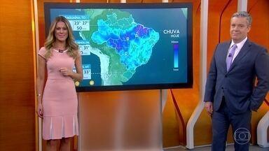 Previsão é de temporal em SP nesta quinta-feira - Veja como fica o tempo em todo o país.
