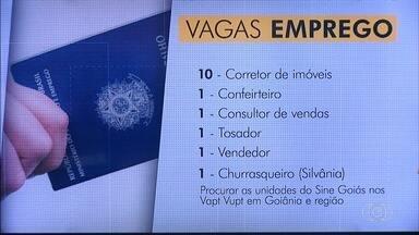 Confira as vagas de emprego para Goiás - Há oportunidade para porteiro e servente de limpeza.