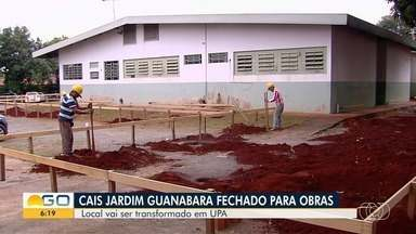 Cais do Jardim Guanabara é fechado para reforma, em Goiânia - Local vai ser transformado em UPA.