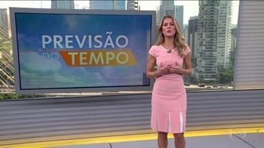 Veja a previsão do tempo para esta quinta-feira (20) em todo o país - Nova frente fria vai provocar chuva forte em São Paulo. No restante do Sudeste, a chuva deve ser mais isolada. Previsão de temporal no Norte nordestino. O tempo fica firme em grande parte do Sul.