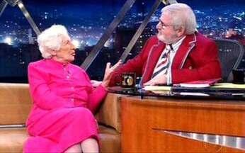 Maria Augusta Machado fala de sua idade, 93 anos - Ela afirma que sempre viveu cada idade com intensidade.