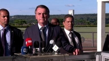 Bolsonaro defende excludente de ilicitude para militares na Garantia da Lei e da Ordem - Medida, que ainda está em discussão no Congresso, impede que o integrante da força de segurança seja punido por eventuais crimes durante a ação policial.