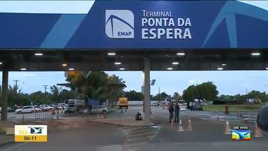 Aumenta a movimentação de passageiros do ferry boat em São Luís - Com a chegada do final de semana do carnaval muita gente vai viajar de ferry boat.