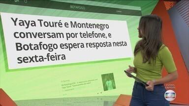 Globo Esporte, sexta-feira, 21/02/2020 na Íntegra - O Globo Esporte atualiza o noticiário esportivo do dia.
