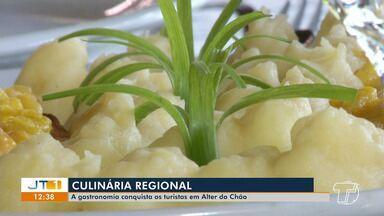 Gastronomia conquista os turistas em Alter do Chão - Confira mais sobre os sabores da vila balneária.