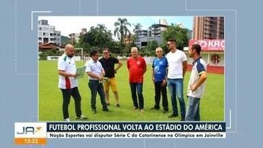 JEC realiza jogo-treino em semana sem rodada do Catarinense - JEC realiza jogo-treino em semana sem rodada do Catarinense