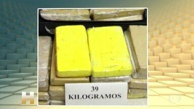 Militar brasileiro preso com cocaína ao entrar na Espanha confessa o crime - O sargento da Força Aérea Brasileira, Manoel Silva Rodrigues, foi detido com 39 quilos de cocaína, em junho do ano passado. Ele fazia parte de uma comitiva presidencial. Com a confissão, ele conseguiu diminuir a pena para seis anos e um dia.
