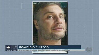 Motorista que atropelou e matou policial irá responder a crime em liberdade - Caso foi em Poços de Caldas