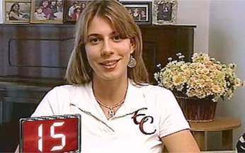 F:15 - Natália Falavigna - A lutadora brasileira de taekwondo mora em Londrina e diz que sempre sonhou em ser uma atleta. As 14 anos começou a praticar o esporte e, em 2000, foi campeã mundial pela primeira vez.