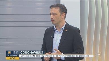 Secretário de Saúde fala sobre como SC está se preparando contra o coronavírus - Secretário de Saúde fala sobre como SC está se preparando contra o coronavírus