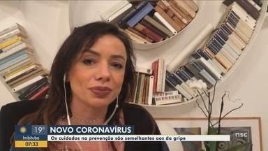 Catarinense que está na Itália fala sobre a apreensão no país com coronavírus - Catarinense que está na Itália fala sobre a apreensão no país com coronavírus