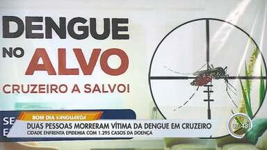 Cruzeiro faz ações de combate a dengue - Cidades tem dois casos de morte.
