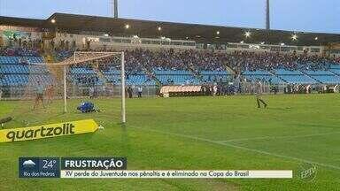 Em disputa emocionante, XV é eliminado da Copa do Brasil após 20 cobranças de pênaltis - Com o resultado, Juventude avança à terceira fase da competição. Veja lances do jogo.