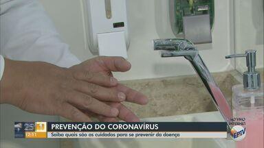 Infectologista fala sobre os cuidados para evitar a infecção pelo coronavírus - Higiene é a principal recomendação e é necessário procurar atendimento médico em caso de qualquer sintoma.