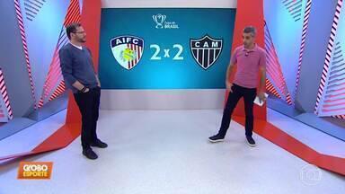 Bob Faria comenta a eliminação do Atlético-MG e as mudanças no departamento de futebol - Bob Faria comenta a eliminação do Atlético-MG e as mudanças no departamento de futebol