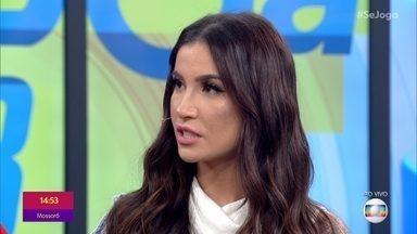 Bianca Andrade conta que ainda não reatou com Diogo Melim - Ex-BBB garante que não se apaixonou por Guilherme e diz que está conversando com o cantor