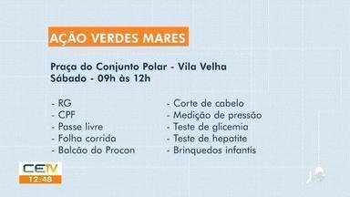 Sábado tem serviços gratuitos no Ação Verdes Mares, na Praça do Conjunto Polar - Saiba mais no g1.com.br/ce