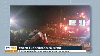 Homem foi encontrado morto dentro de veículo em Sinop - Homem foi encontrado morto dentro de veículo em Sinop
