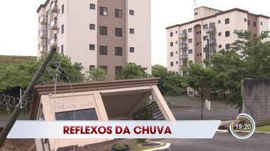 Instituto avalia estragos causados pela chuva em Jacareí - Confira a reportagem.