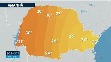 Temperatura continua baixa nesta sexta-feira em Curitiba e região - Máxima não passa dos 24 graus.