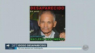 Família de Jardinópolis, SP, busca idoso com mal de Alzheimer que desapareceu - Naclério Nascimento, de 84 anos, sumiu de casa após sair de bicicleta.