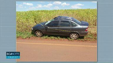 Trabalhador morre atropelado em rodovia entre Nova Aurora e Palmitópolis - O acidente foi na PR-575. O homem de 50 anos trabalhava na beira da estrada e foi atropelado quando foi atravessar a rodovia.