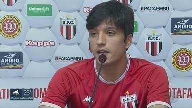 Botafogo-SP anuncia contratação do meia Matheus Anjos, do Athlético-PR - O camisa 10 tão pedido pela torcida à diretoria vai ter cinco jogos para ajudar o time a escapar do rebaixamento.