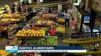 Pesquisa vai monitorar hábitos alimentares de brasileiros - Pesquisa monitorará pelos próximos dez anos a alimentação dos brasileiros para diminuir os riscos de doenças crônicas