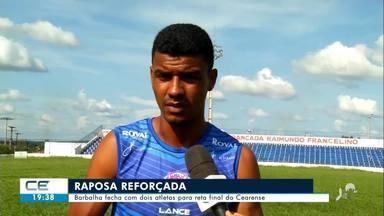 Barbalha fecha com dois atletas para reta final do Cearense - Confira mais notícias em g1.globo.com/ce