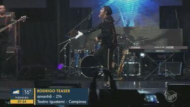 'Em Cartaz' apresenta agenda cultural para o fim de semana em Campinas e região - Atrações incluem shows musicais e espetáculos de humor.