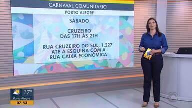 Confira as próximas datas para os blocos de carnaval comunitário - Assista ao vídeo.