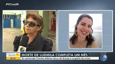 Família de mulher pede justiça um mês após corpo ser encontrado em São Sebastião do Passé - O ex-namorado da vítima é o principal suspeito do crime.