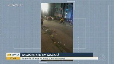 Jovem de 22 anos é morto a tiros no conjunto Mucajá, na Zona Sul de Macapá - Crime aconteceu na noite de quinta-feira (27).