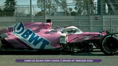 """Carro da Racing Point ganha o apelido de """"Mercedes Rosa"""" - Carro da Racing Point ganha o apelido de """"Mercedes Rosa"""""""