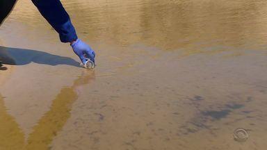Análises de córregos mostram que seis praias têm pontos contaminados no Litoral Norte - Das 12 amostras coletadas, cinco apresentaram índices de boa qualidade. As outras sete têm contaminação.