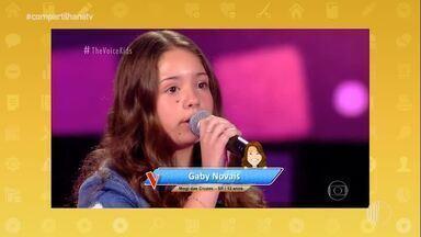 'The Voice Kids': conheça a Gaby Novais, participante de Mogi das Cruzes - Assista ao vídeo!