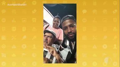 Vídeo de pai e filho em jogo do Santos viraliza na internet, e eles conhecem o CT Rei Pelé - Conheça a história de amor e superação! Assista ao vídeo!