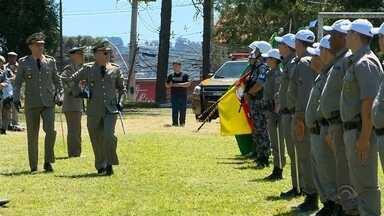 Troca de comando regional na Polícia Ostensiva do Planalto foi nesta sexta-feira - Colégio Tiradentes também terá um novo comandante.