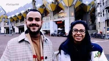 #InTodoCantoTemCearense: João Tomé e Manuela Landim moram e trabalham na Holanda - Profissionais do ramo da beleza falam sobre o que mais sentem falta do Ceará