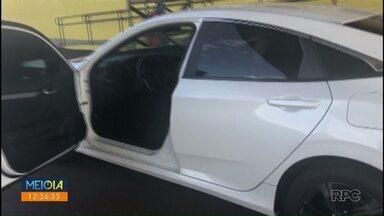 Carro roubado no RS é apreendido em Mandaguari - Motorista de 22 anos foi preso.